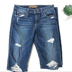 Joes The Icon Skinny Midrise Distressed jeans